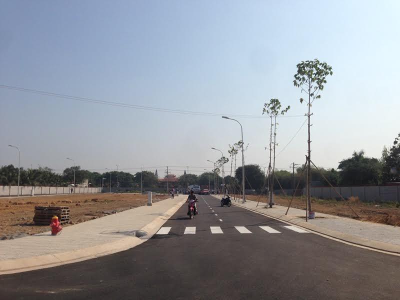 Đất nền nam phong dự án đang hoàn thiện