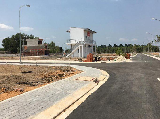 Hạ tầng dự án nam phong cơ sở hạ tầng đang hoàn thiện