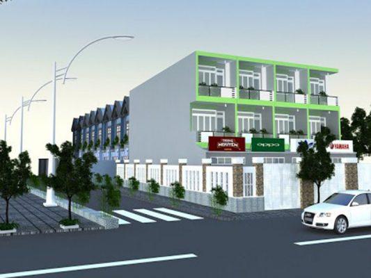 Phối cảnh tổng quan dự án An Phú Center