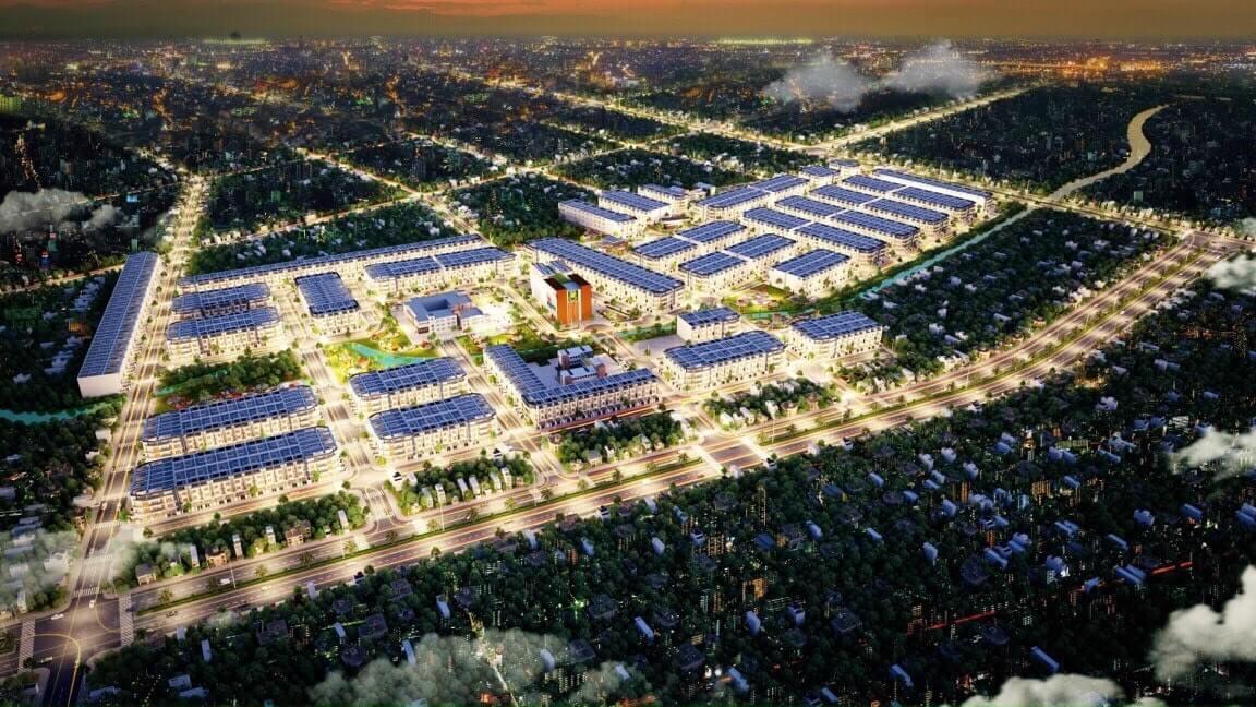Phối cảnh tổng quan dự án Long Cang RiverPark