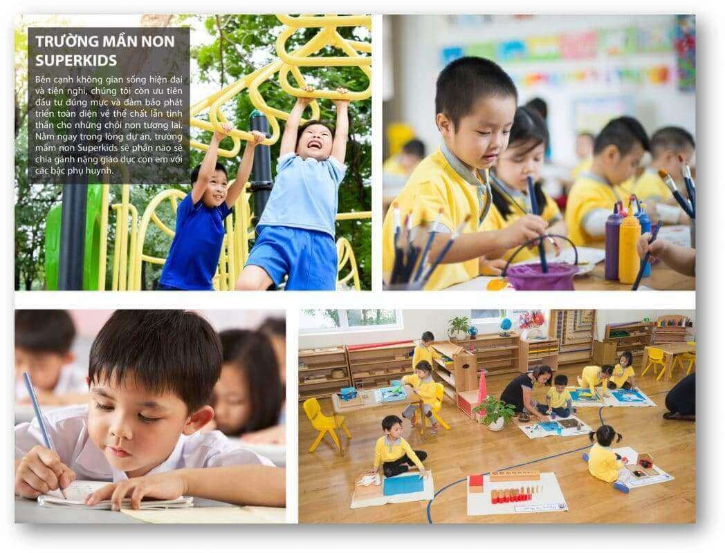 Tiện ích chuỗi hệ thông trường học Long Cang RiverPark