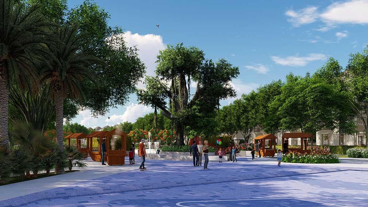 Công viên dự án la vida residence