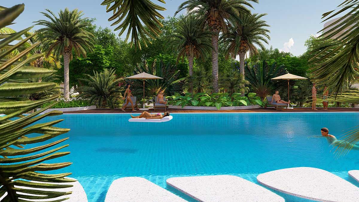 Hồ bơi dự án la vida residence