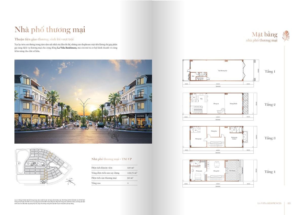 nhà phố thương mại la vida residence